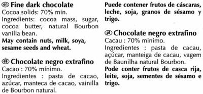 Excellence dark 70% cocoa - 5