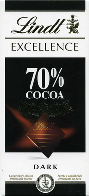 Chocolate negro 70% cacao - Product