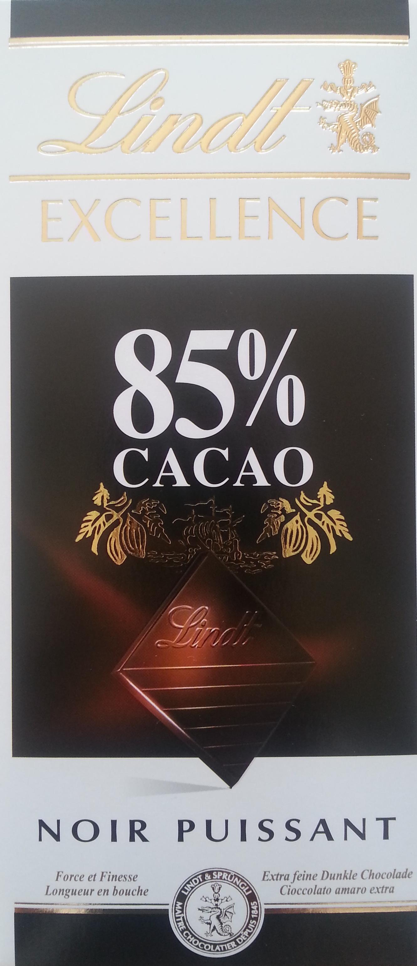 Chocolate 85% cacao - Produit - fr