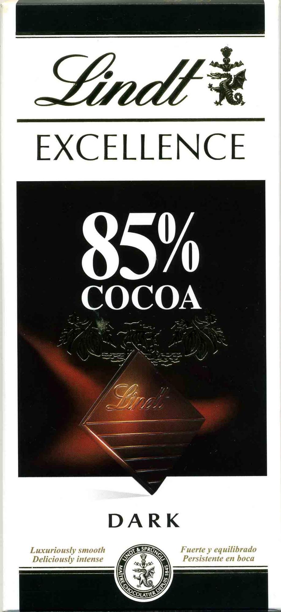 Chocolate 85% cacao - Produto - pt