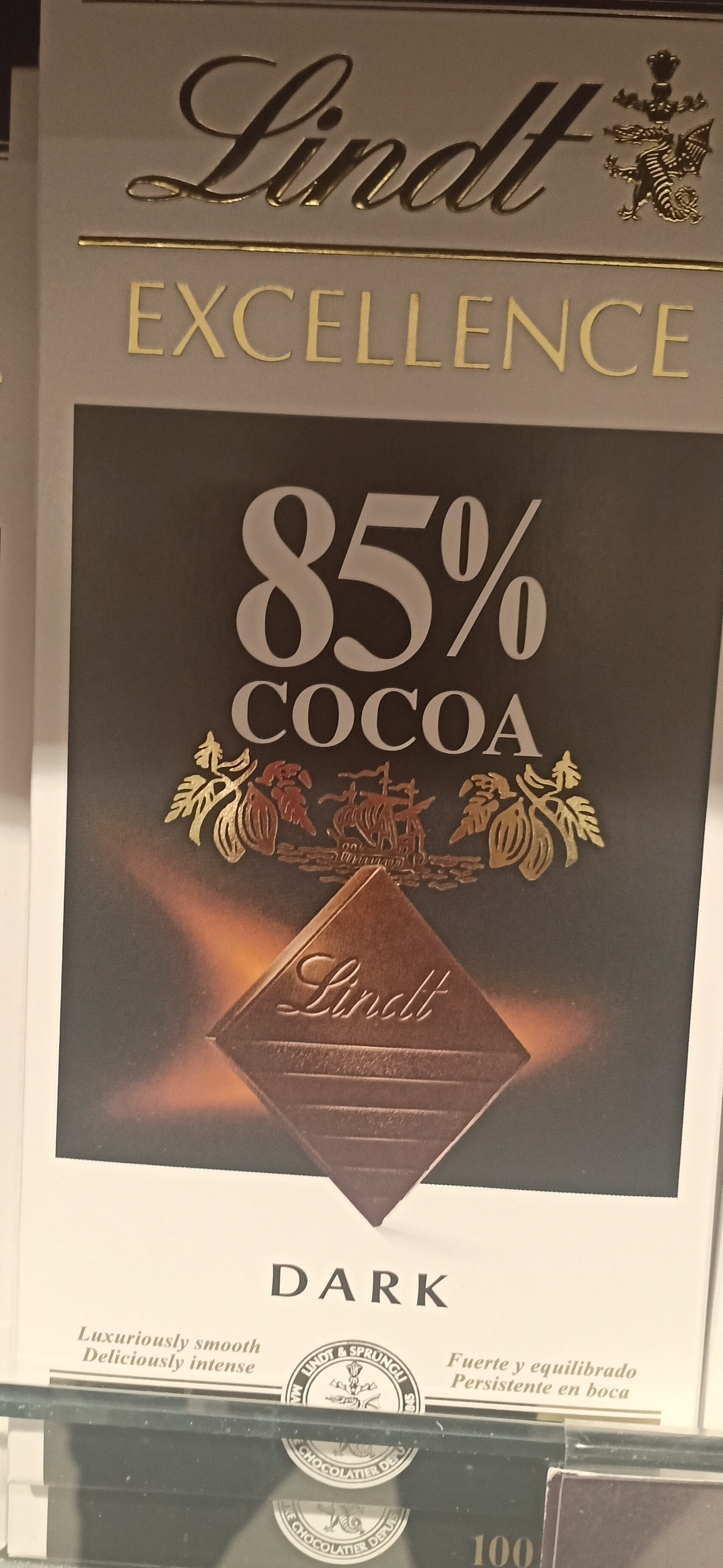 Excellence dark 85% cocoa - Recycling instructions and/or packaging information - pt