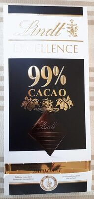 Chocolat Noir extra-fin 99% Cacao - Product - fr