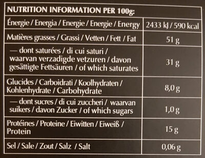 Excellence 99% Cacao - Noir absolu - Informations nutritionnelles - fr