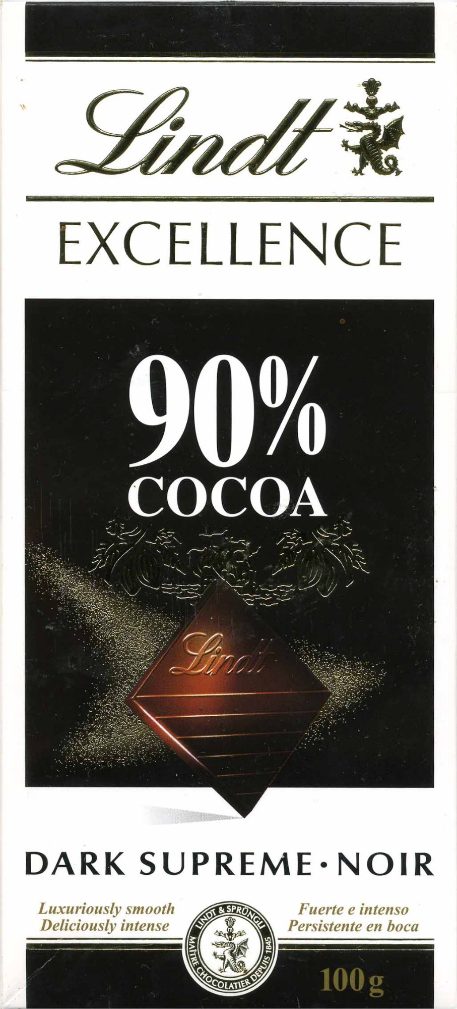 Dark Chocolate 90% cocoa - Product