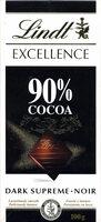 Dark Chocolate 90% cocoa - Prodotto - it