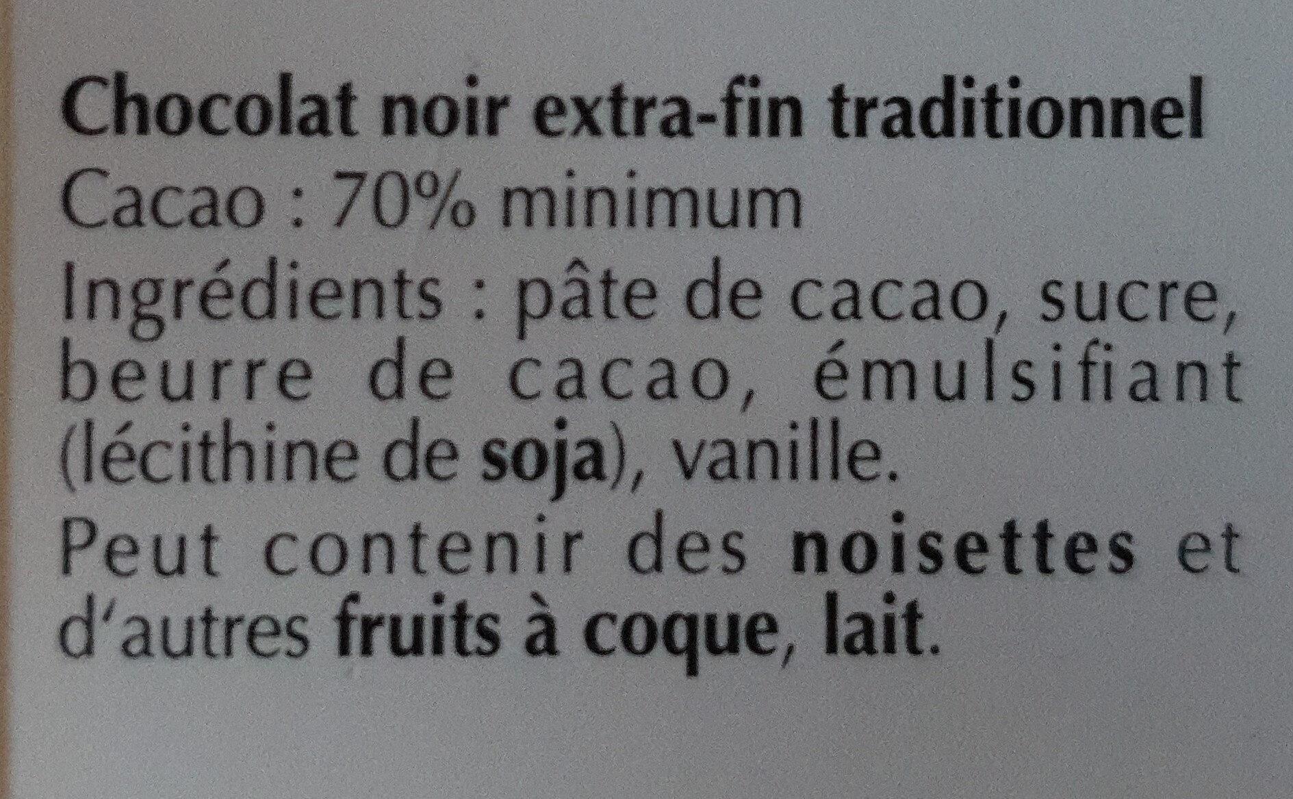 Mild 70% - Ingredients - fr