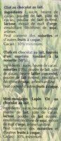 Lapin or - Ingredients - fr