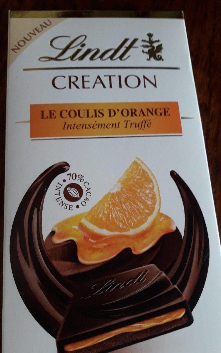 CRÉATION Le coulis d'orange - Product