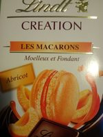 Lindt creation les macarons noir abricot - Product