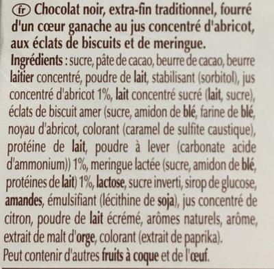 Les macarons - Ingrédients - fr