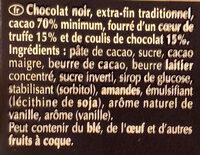 Le coulis de chocolat - Ingredientes - fr