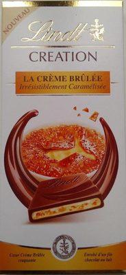 Creation, la crème brûlée - Produit
