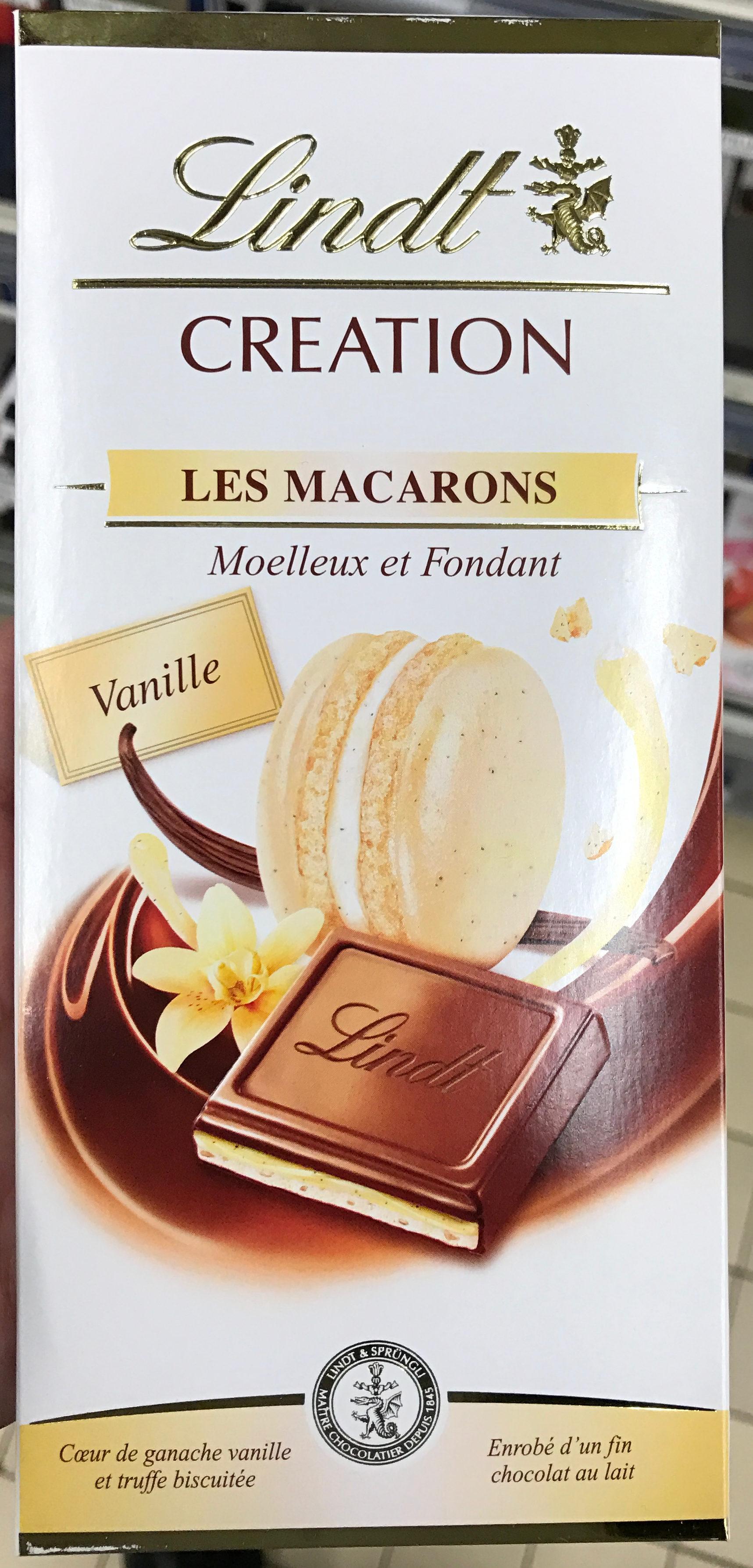 Creation Les Macarons Vanille - Produit - fr