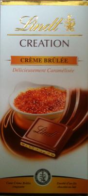 Création Crème Brûlée - Produit