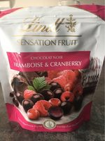 Sensation Fruit Chocolat Noir Framboise & Cranberry - Product - fr