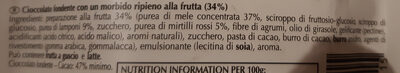 Sensation Fruit Chocolat Noir Framboise & Cranberry - Ingredienti - it