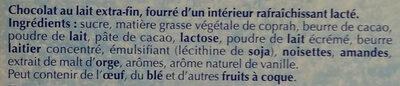 Les Pyrénéens Lait - Ingredients - fr