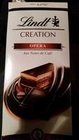 Lindt CREATION OPERA Aux Notes de Café - Produit