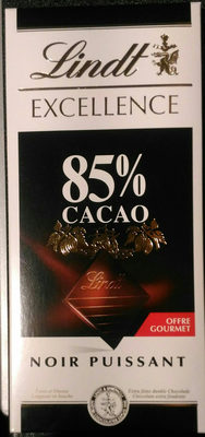 Excellence 85% Cacao Noir Puissant (offre gourmet) - Product