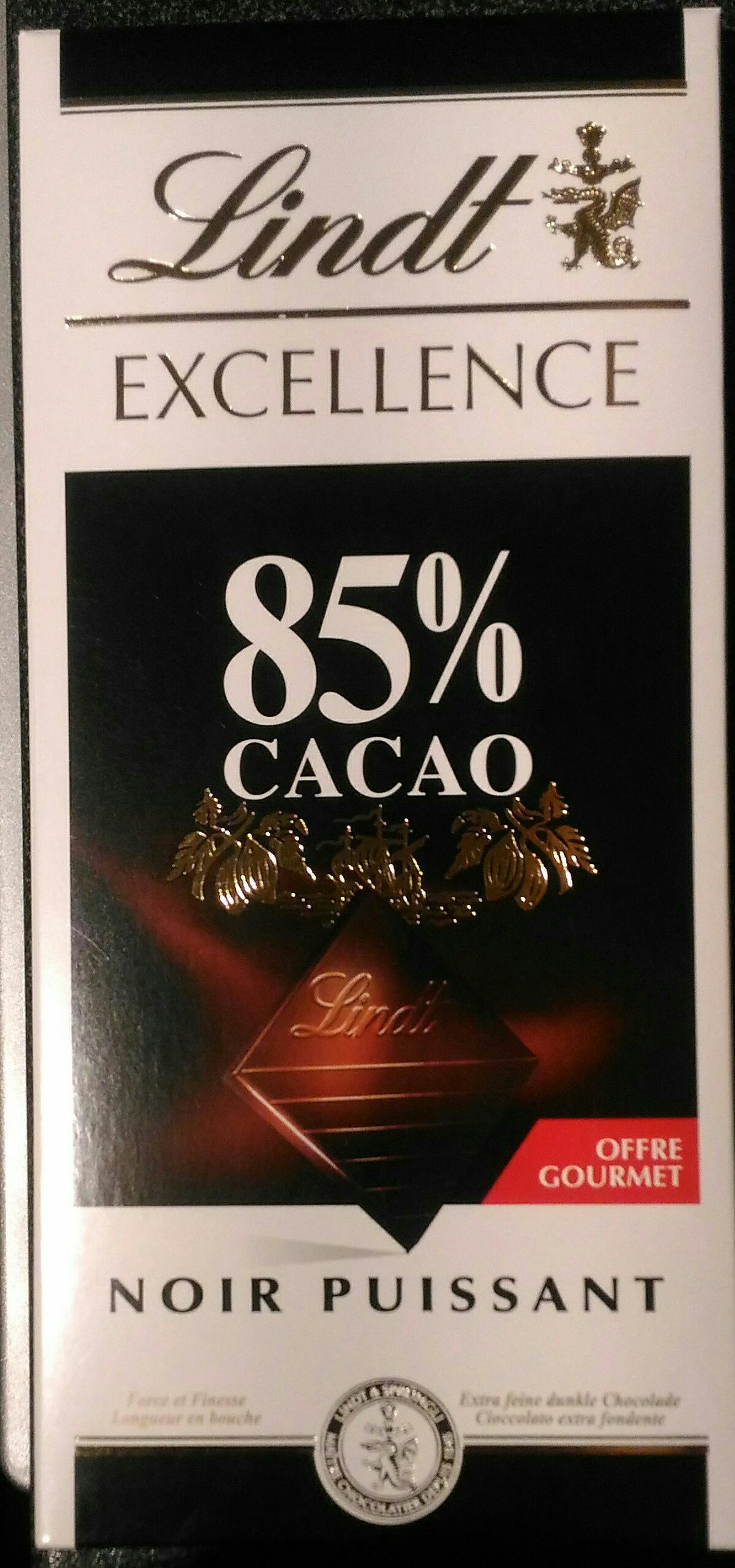 Excellence 85% Cacao Noir Puissant (offre gourmet) - Product - fr
