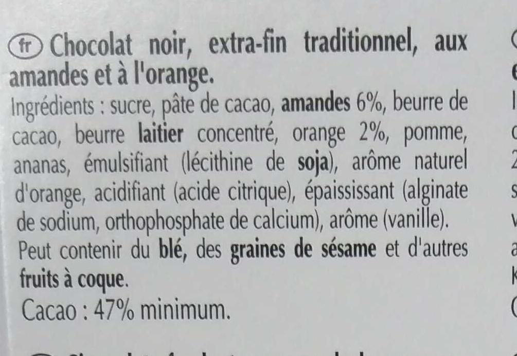 Excellence Orange Intense - Ingredients