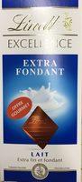 Chocolat au lait extra fin et fondant - Produit