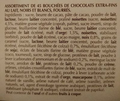 Création dessert - Ingredients