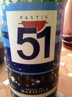 Pastis - Valori nutrizionali - fr