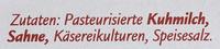 Géramont Cremig-Würzig - Inhaltsstoffe