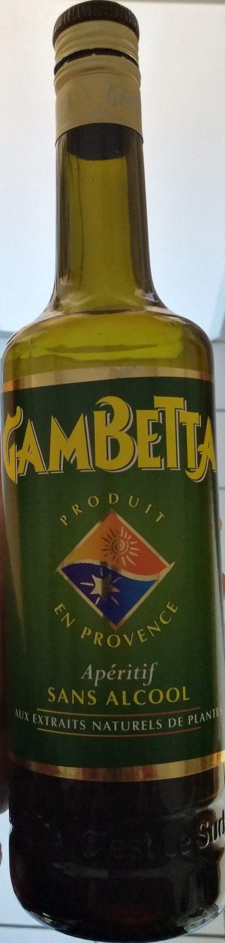 Apéritif Gambetta - Product