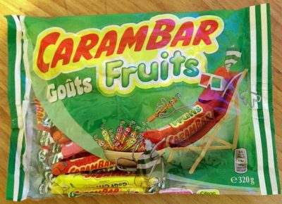 Carambar Goûts Fruits - Produit