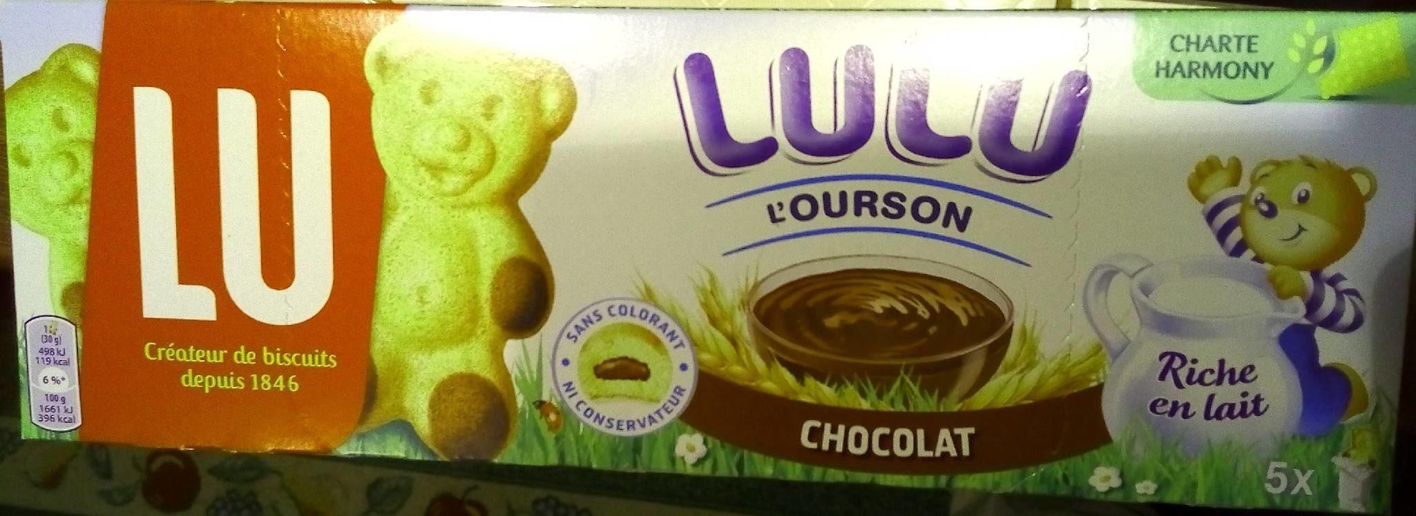 Lulu L'Ourson Chocolat - Produit - fr