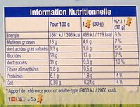 Lulu L'Ourson Chocolat - Informations nutritionnelles - fr