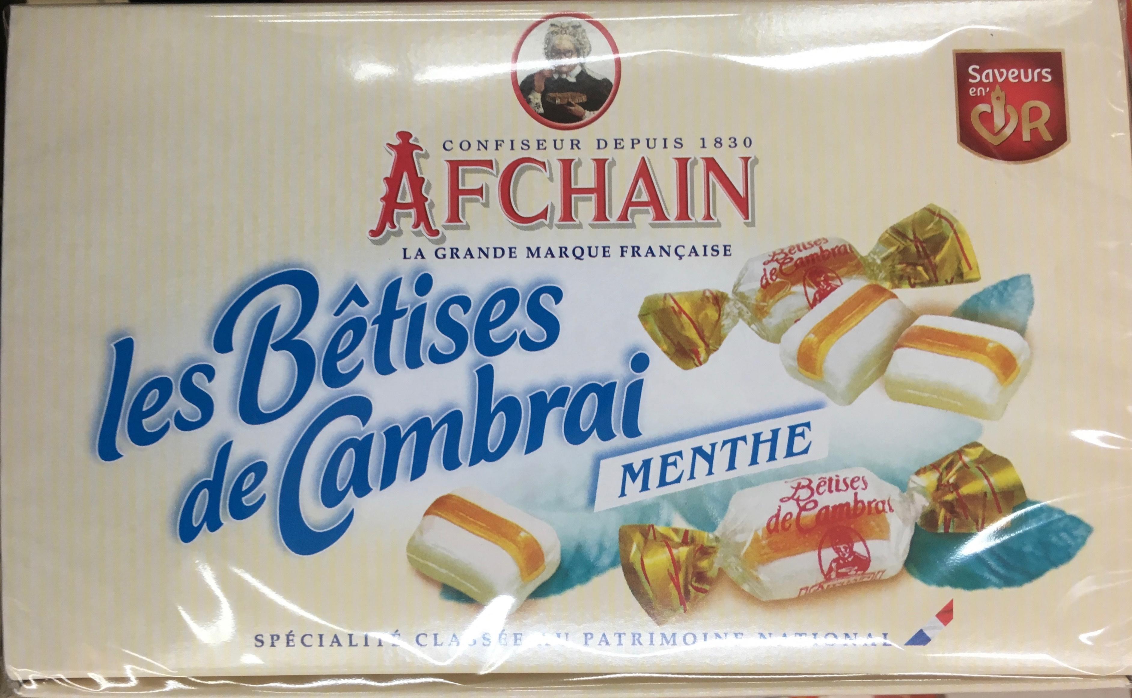 Les Bêtises de Cambrai Menthe - Product