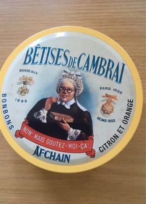 Boîte Bêtises de Cambrai - Product - fr