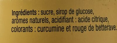 Boîte Bêtises de Cambrai - Ingredients - fr