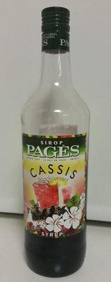 sirop de cassis - Product - fr
