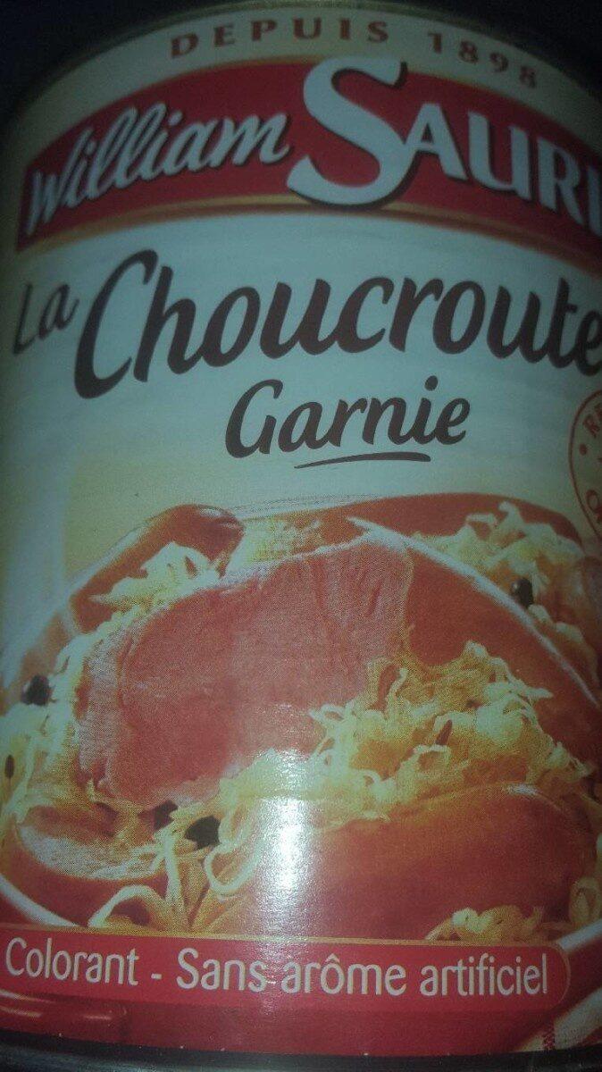 La Choucroute Garnie - Produit - fr
