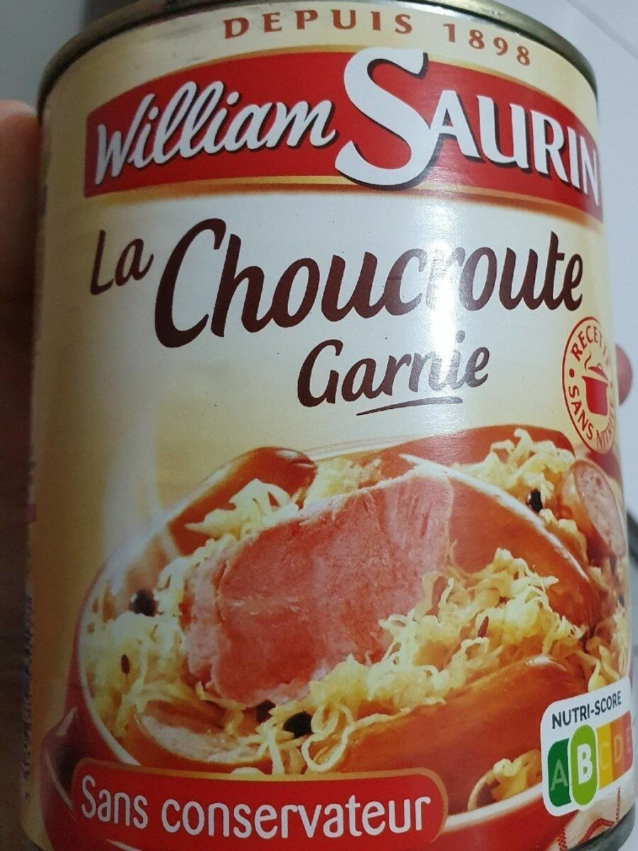 La Choucroute garnie - Product - fr