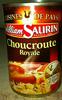 Choucroute Royale, Au Riesling d'Alsace - Produit