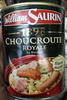 1898 Choucroute Royale, Au Riesling - Product
