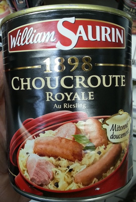 1898 Choucroute Royale, Au Riesling - Product - fr