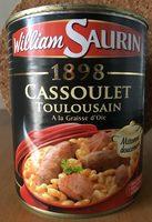 Cassoulet toulousain à la graisse d'oie - Produit - fr