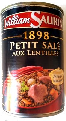1898 Petit Salé aux Lentilles - Product - fr