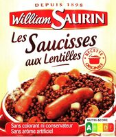 Les Saucisses aux Lentilles - Produit