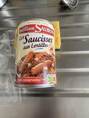 Saucisse lentilles 1/2 - Istruzioni per il riciclaggio e/o informazioni sull'imballaggio - fr