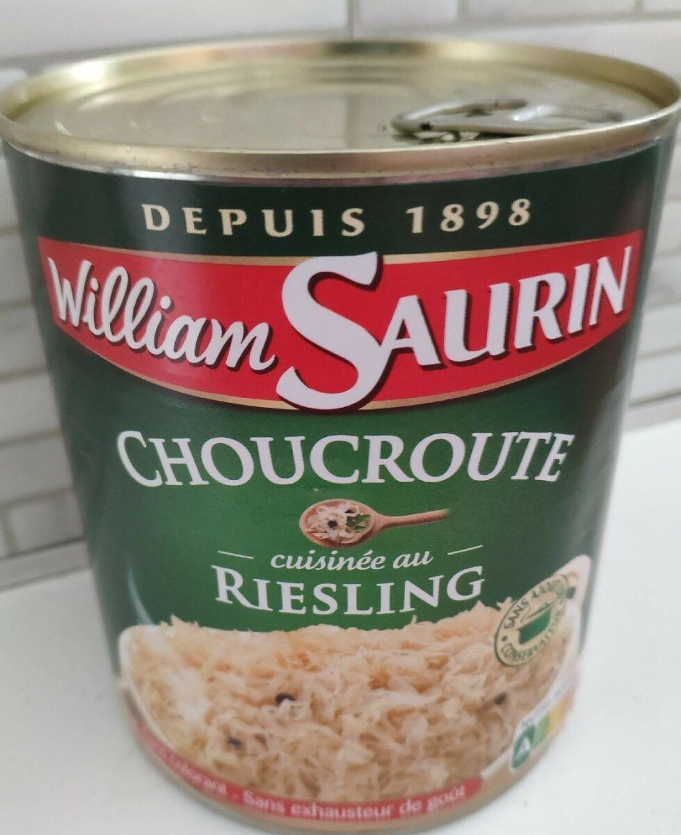 Choucroute cuisinée au Riesling - Product - fr