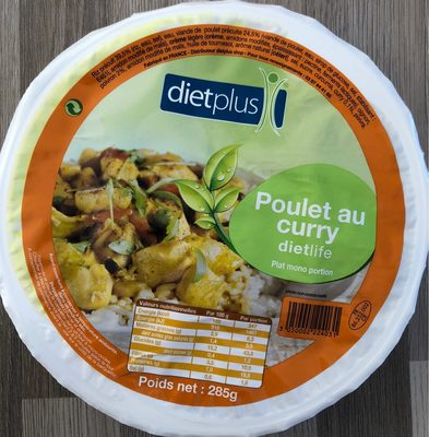 Poulet au curry - Product