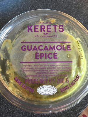 Guacamole epice - Product - fr