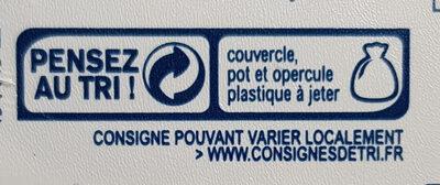 Filets de hareng à la crème - Instruction de recyclage et/ou informations d'emballage - fr